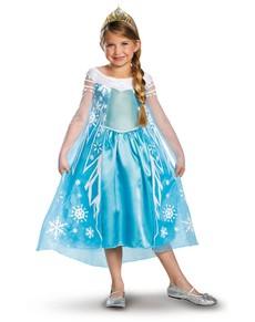 Elsa Kostüm Eiskönigin Prestige für Mädchen
