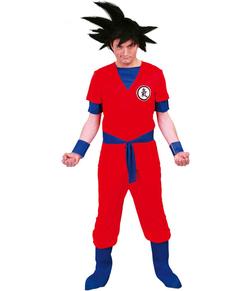 Sayajin Krieger Kostüm