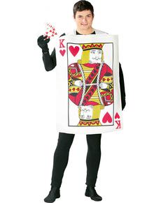 König der Herzen Karte Kostüm