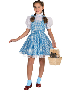 Mädchenkostüm Dorothy Deluxe