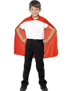 Superheld Umhang für Jungen rot