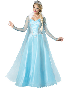 Schneeprinzessin Kostüm für Damen