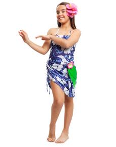 Tropisches Hawaii Kostüm für Mädchen