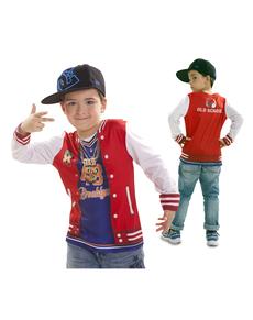 Rapper mit Flow T-Shirt für Jungen